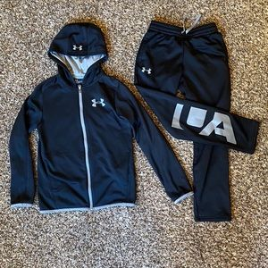 Boys UA Jacket and Pant Set